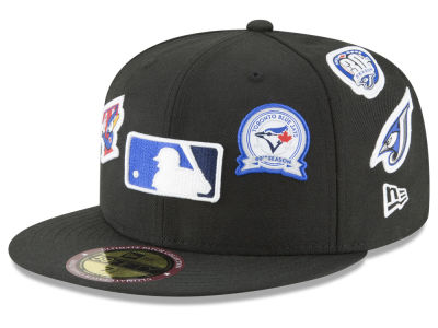 Toronto Blue Jays New Era MLB Ultimate Patch Collection All Patches 59FIFTY Cap