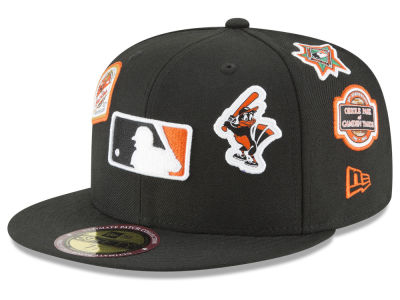 Baltimore Orioles New Era MLB Ultimate Patch Collection All Patches 59FIFTY Cap