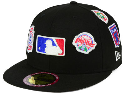Philadelphia Phillies New Era MLB Ultimate Patch Collection All Patches 59FIFTY Cap