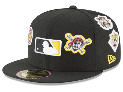 Pittsburgh Pirates New Era MLB Ultimate Patch Collection All Patches 59FIFTY Cap