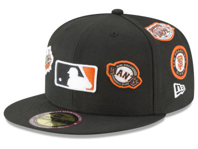 San Francisco Giants New Era MLB Ultimate Patch Collection All Patches 59FIFTY Cap