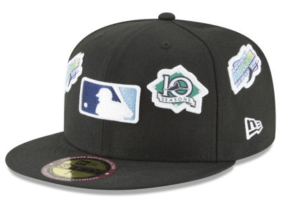 Tampa Bay Rays New Era MLB Ultimate Patch Collection All Patches 59FIFTY Cap