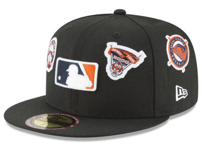 Detroit Tigers New Era MLB Ultimate Patch Collection All Patches 59FIFTY Cap