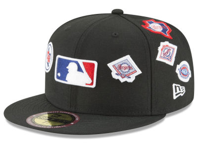 Texas Rangers New Era MLB Ultimate Patch Collection All Patches 59FIFTY Cap