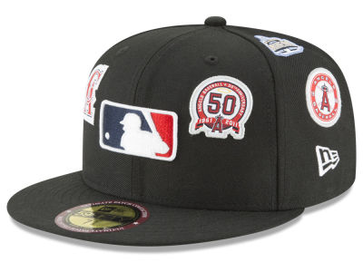 Los Angeles Angels New Era MLB Ultimate Patch Collection All Patches 59FIFTY Cap