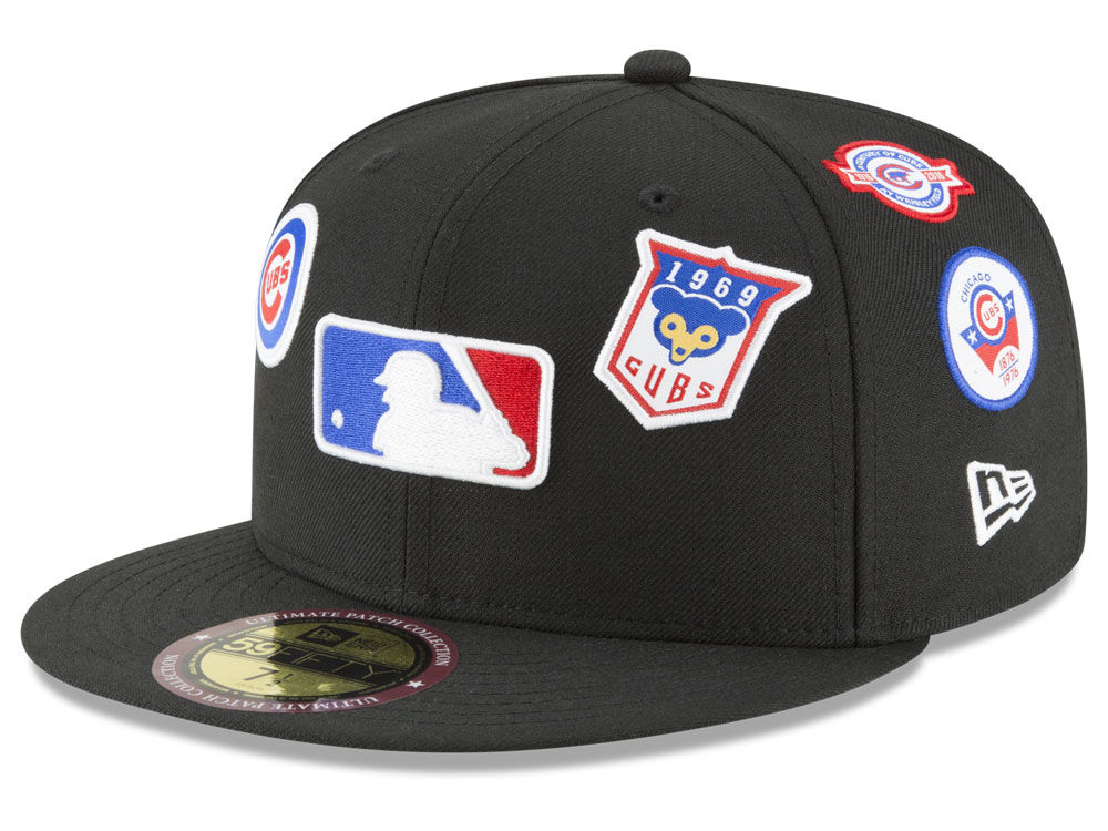 cd36d693afa Chicago Cubs New Era MLB Ultimate Patch Collection All Patches 59FIFTY Cap