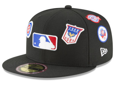 Chicago Cubs New Era MLB Ultimate Patch Collection All Patches 59FIFTY Cap