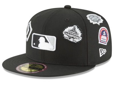 Chicago White Sox New Era MLB Ultimate Patch Collection All Patches 59FIFTY Cap