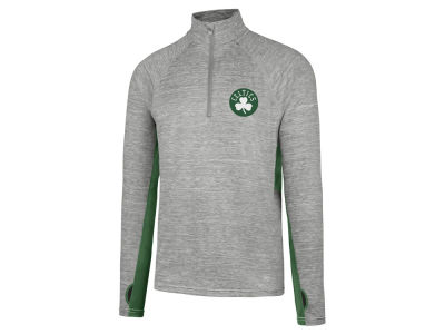 Boston Celtics '47 NBA Evolve Forward Quarter Zip Pullover