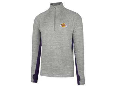 Los Angeles Lakers '47 NBA Evolve Forward Quarter Zip Pullover