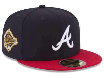 Atlanta Braves New Era MLB Ultimate Patch Collection World Series 2.0 59FIFTY Cap