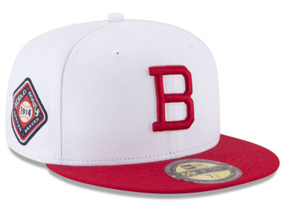 Boston Braves New Era MLB Ultimate Patch Collection World Series 2.0 59FIFTY Cap