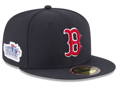 Boston Red Sox New Era MLB Ultimate Patch Collection World Series 2.0 59FIFTY Cap