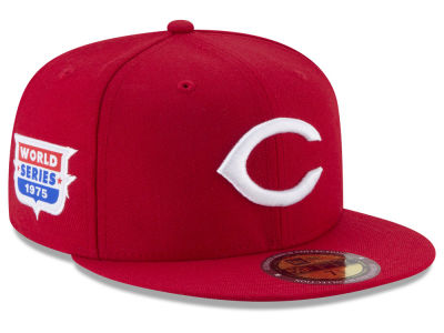Cincinnati Reds New Era MLB Ultimate Patch Collection World Series 2.0 59FIFTY Cap
