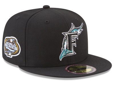 Florida Marlins New Era MLB Ultimate Patch Collection World Series 2.0 59FIFTY Cap