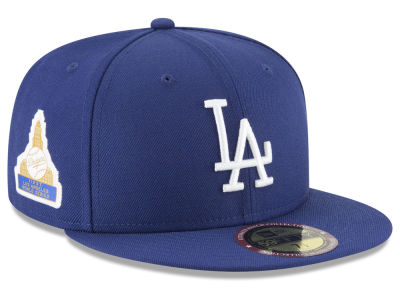Los Angeles Dodgers New Era MLB Ultimate Patch Collection World Series 2.0 59FIFTY Cap