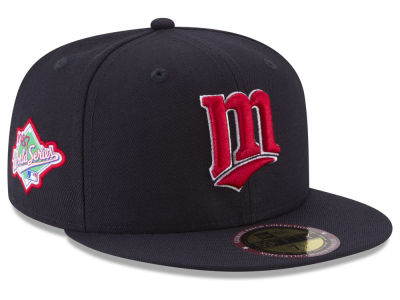 Minnesota Twins New Era MLB Ultimate Patch Collection World Series 2.0 59FIFTY Cap