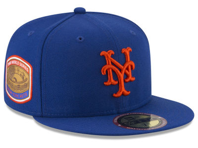 New York Mets New Era MLB Ultimate Patch Collection World Series 2.0 59FIFTY Cap