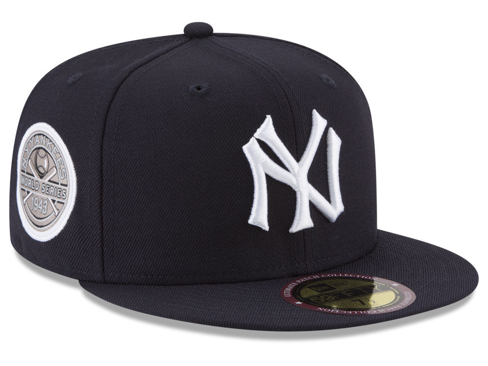 3d7e576f48312 New York Yankees New Era MLB Ultimate Patch Collection World Series 2.0  59FIFTY Cap