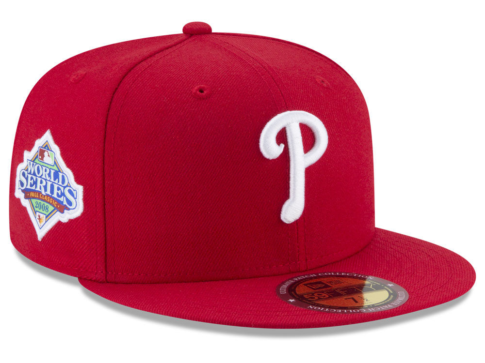 Philadelphia Phillies New Era MLB Ultimate Patch Collection World Series  2.0 59FIFTY Cap  efd49aaa9