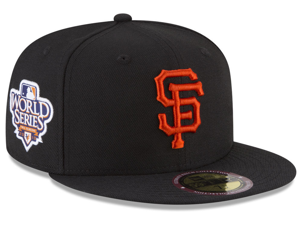 c6cf74447f5 San Francisco Giants New Era MLB Ultimate Patch Collection World Series 2.0  59FIFTY Cap