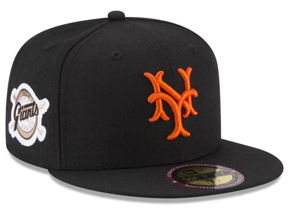 f626f7e94b9 New York Giants New Era MLB Ultimate Patch Collection World Series 2.0  59FIFTY Cap