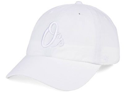 Baltimore Orioles '47 MLB White/White '47 CLEAN UP Cap