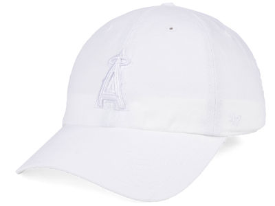 Los Angeles Angels '47 MLB White/White '47 CLEAN UP Cap