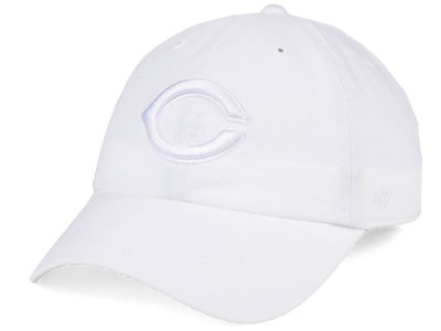 Cincinnati Reds '47 MLB White/White '47 CLEAN UP Cap