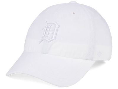 Detroit Tigers '47 MLB White/White '47 CLEAN UP Cap
