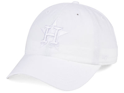 Houston Astros '47 MLB White/White '47 CLEAN UP Cap