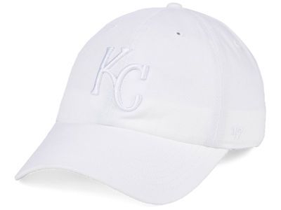 Kansas City Royals '47 MLB White/White '47 CLEAN UP Cap
