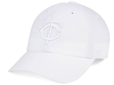 Minnesota Twins '47 MLB White/White '47 CLEAN UP Cap