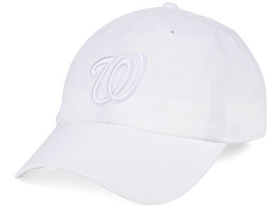 Washington Nationals '47 MLB White/White '47 CLEAN UP Cap