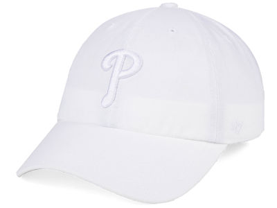 Philadelphia Phillies '47 MLB White/White '47 CLEAN UP Cap
