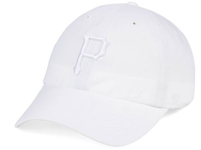 cheap for discount 1fc40 123a3 ... coupon code for pittsburgh pirates 47 mlb white white 47 clean up cap  85512 65c00