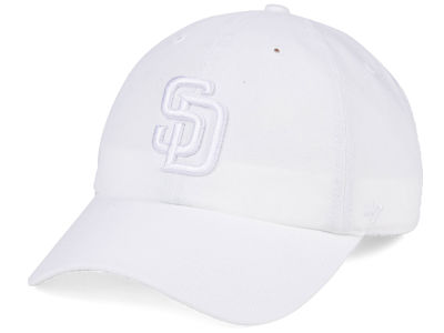 San Diego Padres '47 MLB White/White '47 CLEAN UP Cap