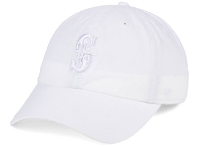 Seattle Mariners '47 MLB White/White '47 CLEAN UP Cap