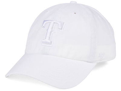 Texas Rangers '47 MLB White/White '47 CLEAN UP Cap