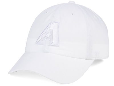 Arizona Diamondbacks '47 MLB White/White '47 CLEAN UP Cap