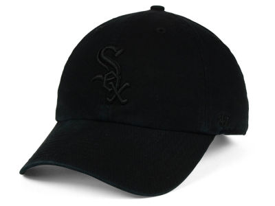 Chicago White Sox '47 MLB Black on Black CLEAN UP Cap