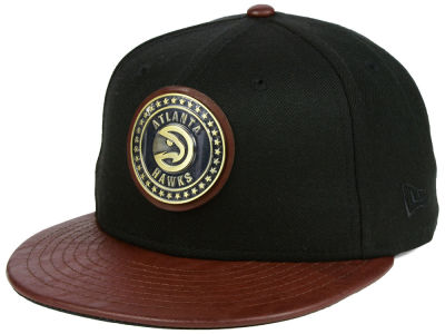 Atlanta Hawks New Era NBA Butter Badge 9FIFTY Snapback Cap
