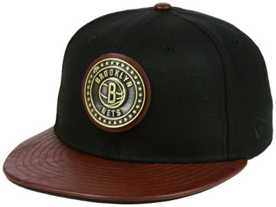 Brooklyn Nets New Era NBA Butter Badge 9FIFTY Snapback Cap