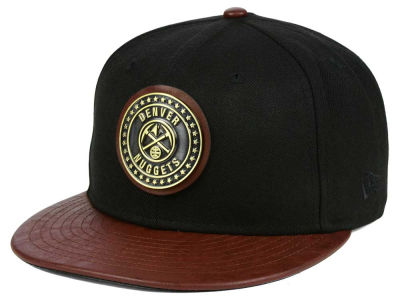 Denver Nuggets New Era NBA Butter Badge 9FIFTY Snapback Cap