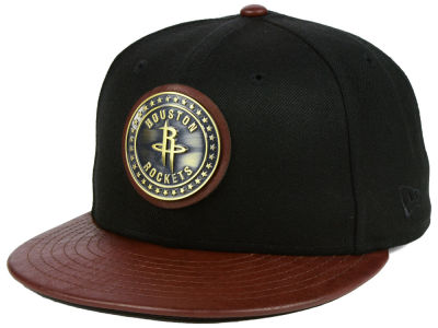 Houston Rockets New Era NBA Butter Badge 9FIFTY Snapback Cap