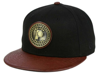 Indiana Pacers New Era NBA Butter Badge 9FIFTY Snapback Cap