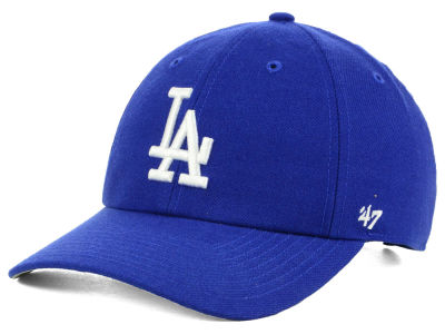 Los Angeles Dodgers '47 MLB No Shot CLEAN UP Cap