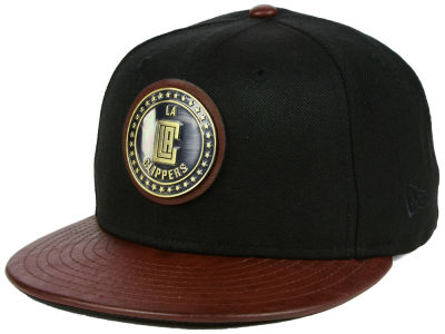 Los Angeles Clippers New Era NBA Butter Badge 9FIFTY Snapback Cap