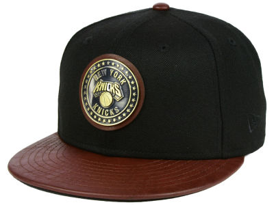 New York Knicks New Era NBA Butter Badge 9FIFTY Snapback Cap