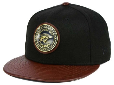 Oklahoma City Thunder New Era NBA Butter Badge 9FIFTY Snapback Cap